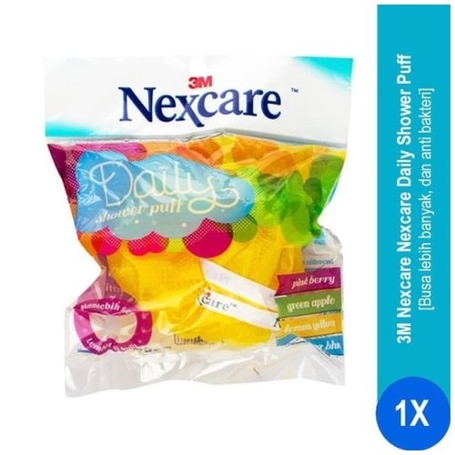 Spons Mandi Daily Shower Puff Nexcare NS-01