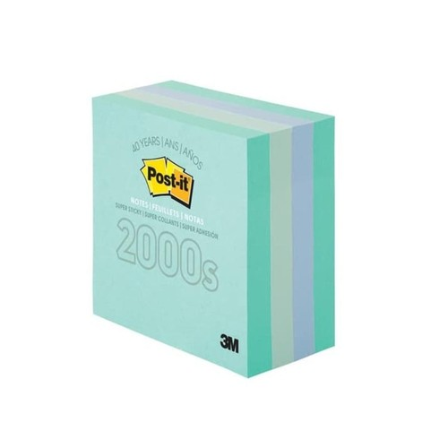 Post it sticky notes 3x3in 40th Anniversary (2000s)