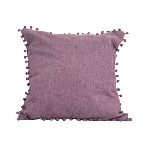 iCreate BANTAL SOFA KULE CUSHION  FREE COVER Purple - 45X45CM