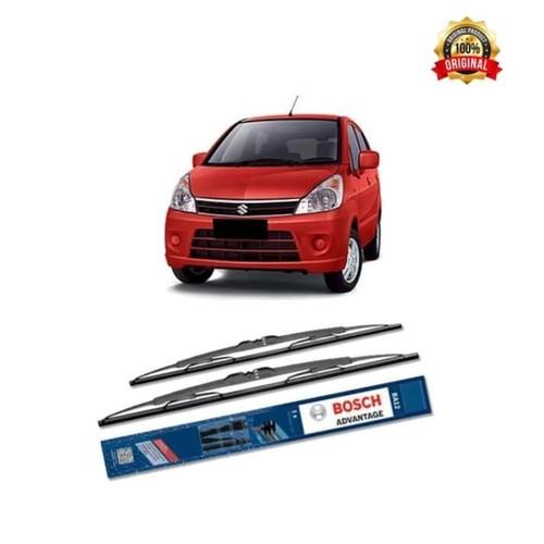 Bosch Sepasang Wiper Kaca Mobil Suzuki Karimun Estilo Advantage 21&12