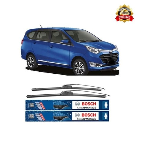 Bosch Sepasang Wiper Mobil Daihatsu Sigra Frameless Clear 22