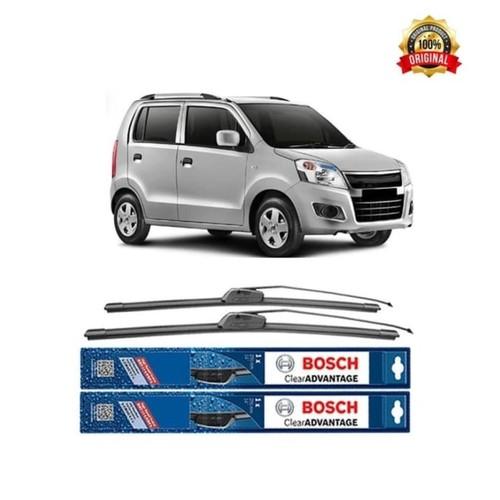 Bosch Sepasang Wiper Mobil Suzuki Karimun Wagon R Frameless New 20 &18