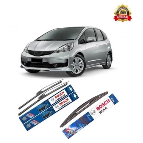 Bosch Sepasang Wiper Mobil Honda Jazz GD Frameless Advantage 24 & 14