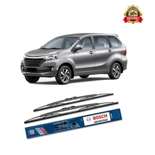Bosch Sepasang Wiper Kaca Mobil Toyota New Avanza Advantage 21