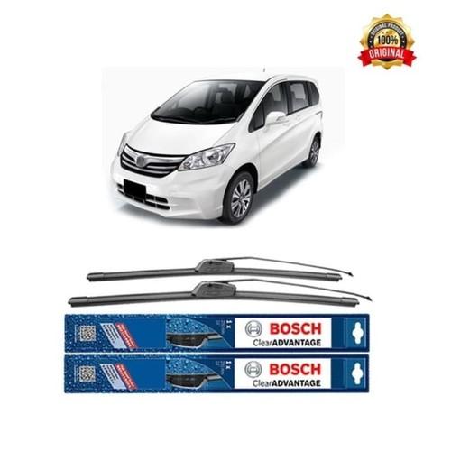 Bosch Sepasang Wiper Mobil Honda Freed Frameless New Clear 26