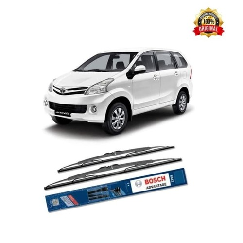 Bosch Sepasang Wiper Kaca Mobil New Toyota Avanza Advantage 21
