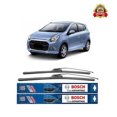 Bosch Sepasang Wiper Kaca Mobil Daihatsu Ayla Advantage 21