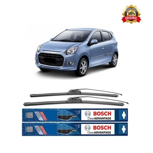Bosch Sepasang Wiper Mobil Daihatsu Ayla Frameless New Clear 21