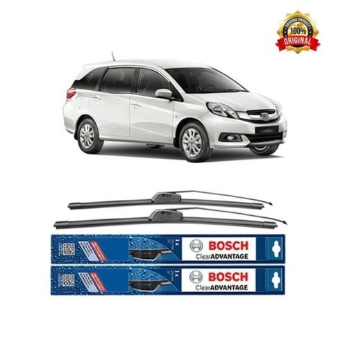Bosch Sepasang Wiper Mobil Honda Mobilio Frameless New Clear 22