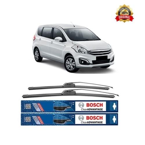 Bosch Sepasang Wiper Mobil Suzuki Ertiga Frameless New Clear 21