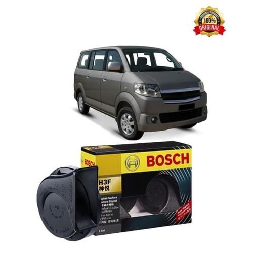 Bosch Klakson Mobil Suzuki APV H3F Digital Fanfare (Keong) Black 12V