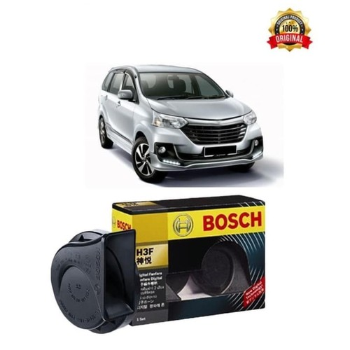 Bosch Klakson Mobil Toyota Avanza H3F Digital Fanfare (Keong) Black 12
