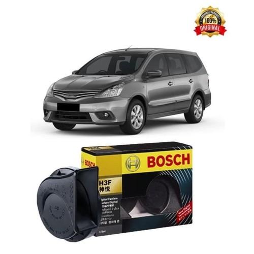Bosch Klakson Nissan Grand Livina H3F Digital Fanfare (Keong) Black