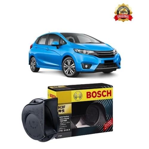 Bosch Klakson Mobil Honda Jazz H3F Digital Fanfare (Keong) Black 12V