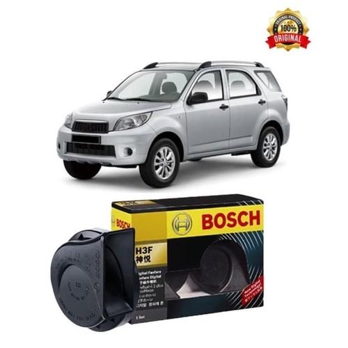 Bosch Klakson Mobil Daihatsu Terios H3F Digital Fanfare (Keong) Black