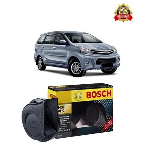 Bosch Klakson Mobil Daihatsu Xenia H3F Digital Fanfare (Keong) Black