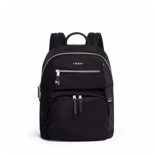 TUMI Voyageur Harper Backpack - Black Silver