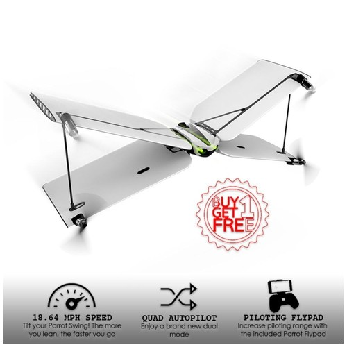 Parrot Swing Flying Drone ( Buy 1 Get 1 free)