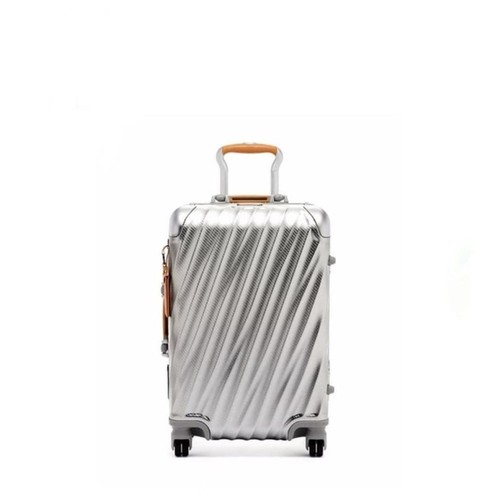 TUMI 19 Degree Aluminum International Carry-On - Textured Silver
