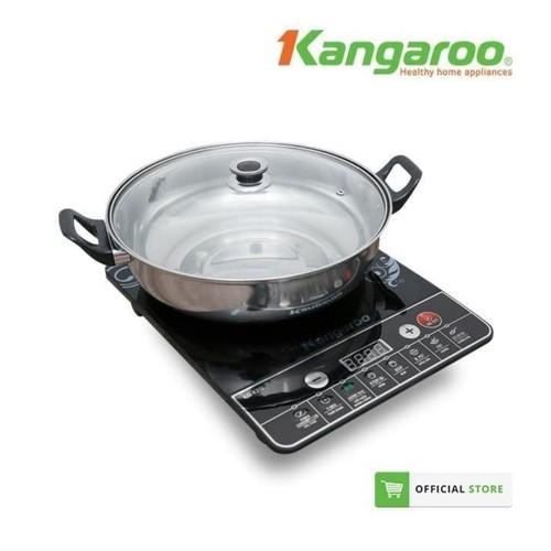 Kangaroo - Kompor Induksi Hemat Energi FREE Panci Induksi KG420I