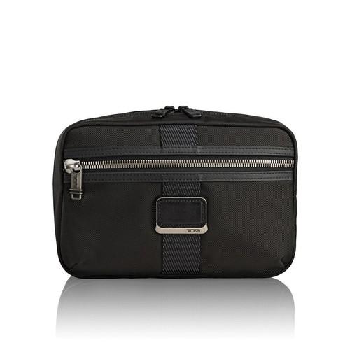 TUMI Alpha Bravo Travel Kit - Reno Kit - Black