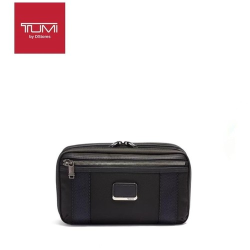 TUMI Alpha Bravo Reno Kit with Expansion - Travel Kit - Black