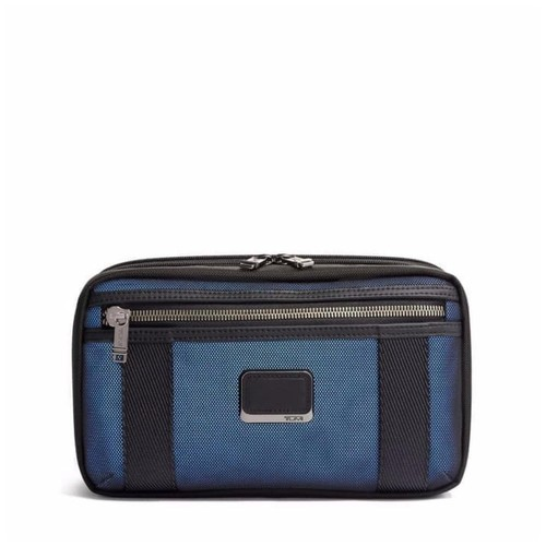TUMI Alpha Bravo Expandable Reno Kit - Navy Reflective