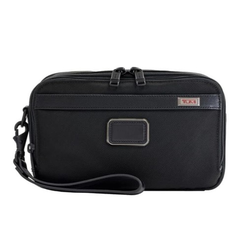 TUMI Alpha 3 Clutch - Black