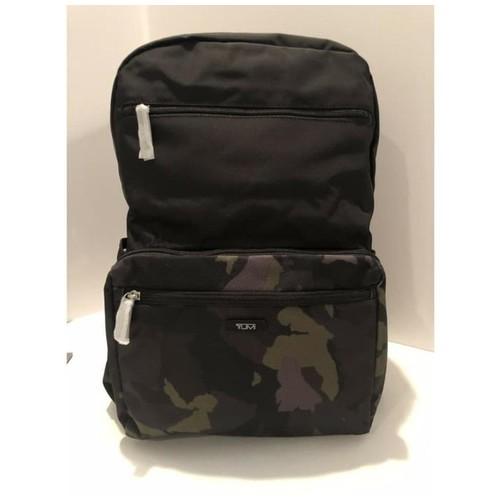 TUMI Packable Backpack - Tas Ransel - Camo Green