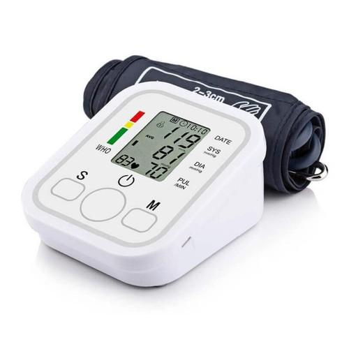 Alat Cek Pengukur Tekanan Tensi Darah Digital Tensimeter Blood Pressure Monitor