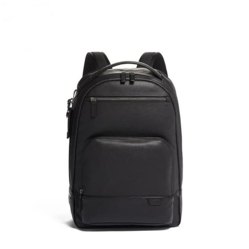 TUMI Harrison Warren Backpack Leather - Black