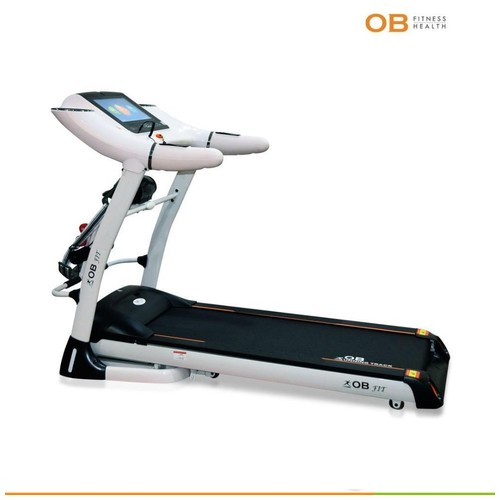 OB-1020 TS New Big Electric Treadmill With WIFI & Touchscreen LED Looks Like Commercial Treadmill