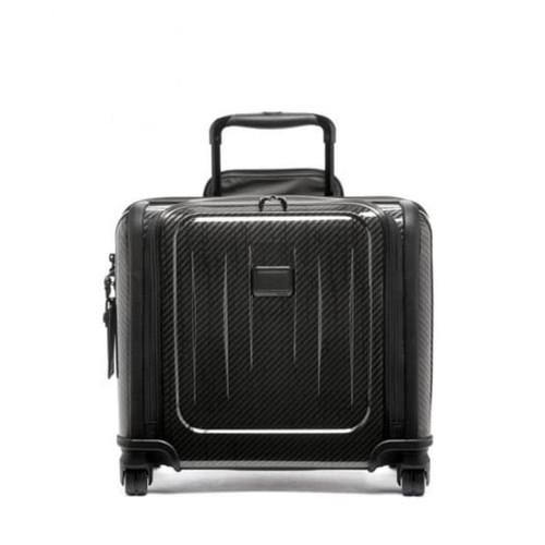 TUMI Tegra Lite Compact 4 Wheeled Brief Carry On - Black Graphite