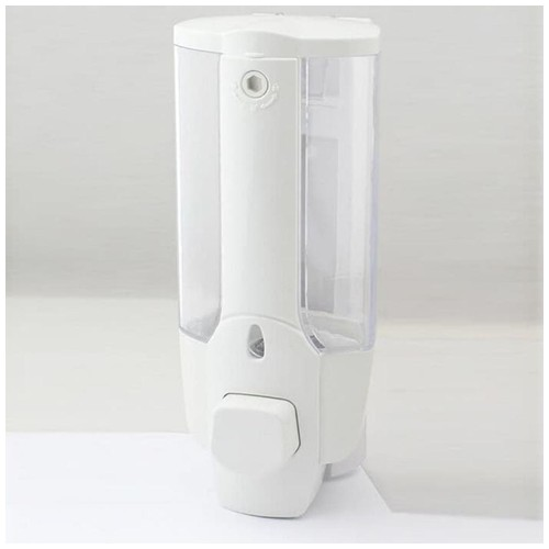 Dispenser Sabun Cair SINGLE with Key Lock - White