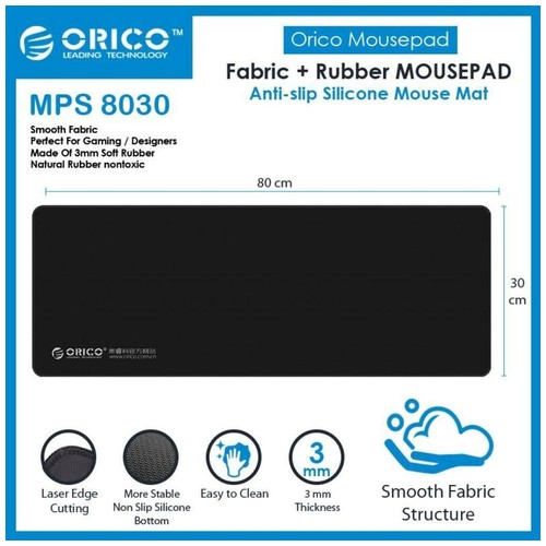 ORICO MPS8030 3mm Large Mouse Pad