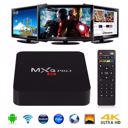 Smart TV Android Box Media Player Pro 4K HDMI