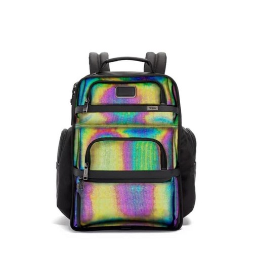 TUMI Alpha 3 Brief Pack - Reflective Multi