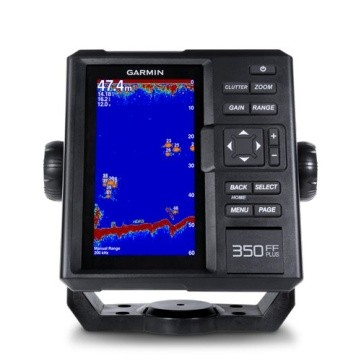 Garmin FF350plus with 77/200kHz TM-XDCR