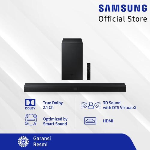 Samsung True Dolby Audio 2.1 ch Soundbar HW-T550 - Black (2020)