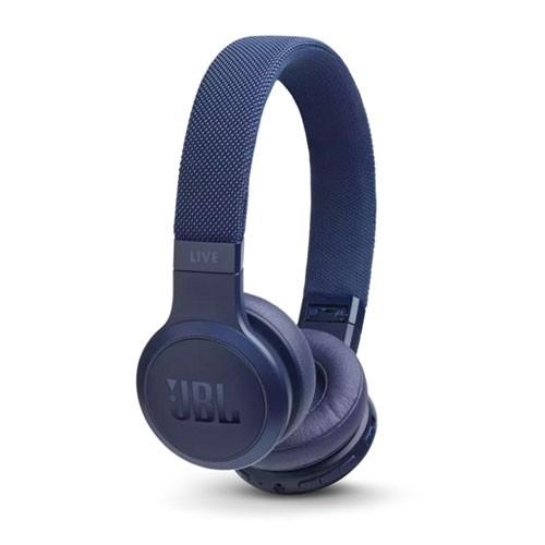 JBL Live 400BT Wireless On-Ear Headphones - Blue