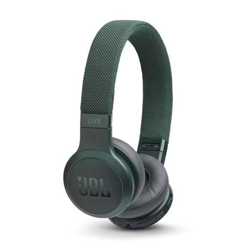 JBL Live 400BT Wireless On-Ear Headphones - Green