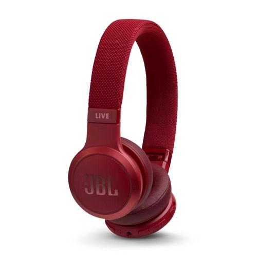 JBL Live 400BT Wireless On-Ear Headphones - Red