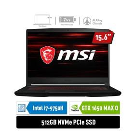 MSI Gaming Laptop GF63 9SCX