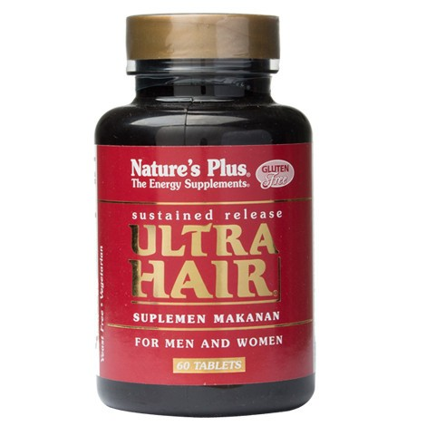 Natures Plus Ultra Hair - 60 Tablets