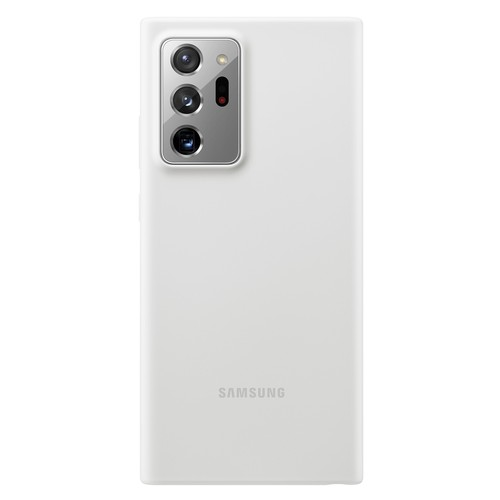Samsung Silicone Cover for Galaxy Note 20 Ultra - White