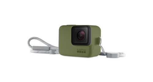 GoPro Sleeve + Lanyard Turtle Green - GP-ACSST-008