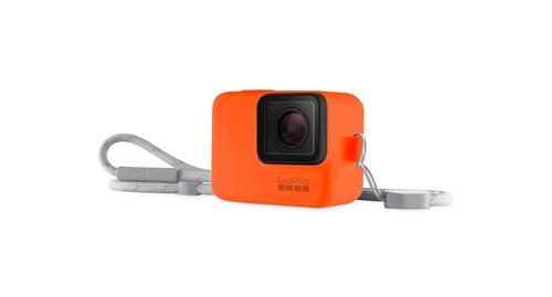 GoPro Sleeve + Lanyard Hyper Orange - GP-ACSST-007