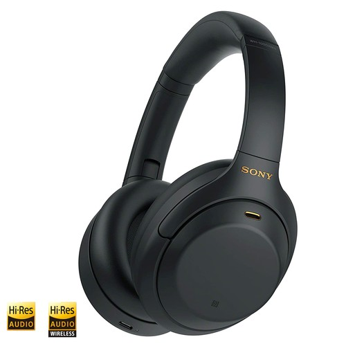 Sony Wireless Noise-Cancelling Headphones WH-1000XM4 - Black