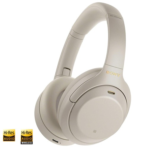 Sony Wireless Noise-Cancelling Headphones WH-1000XM4 - Silver