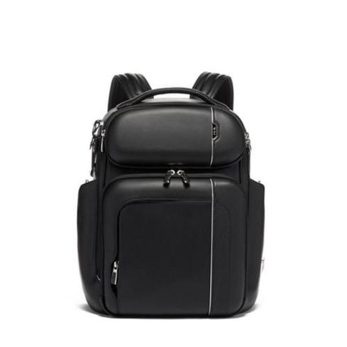 TUMI Arrive Barker Backpack Leather